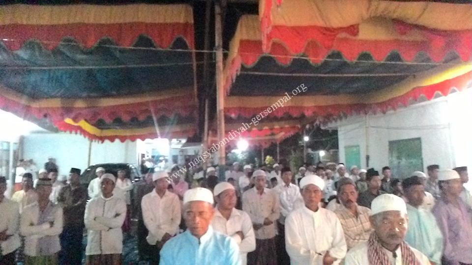 Jama'ah SITQON Ketapang, menghadiri kegiatan di Pesantren Fathul Qulub Ketapang Sampang