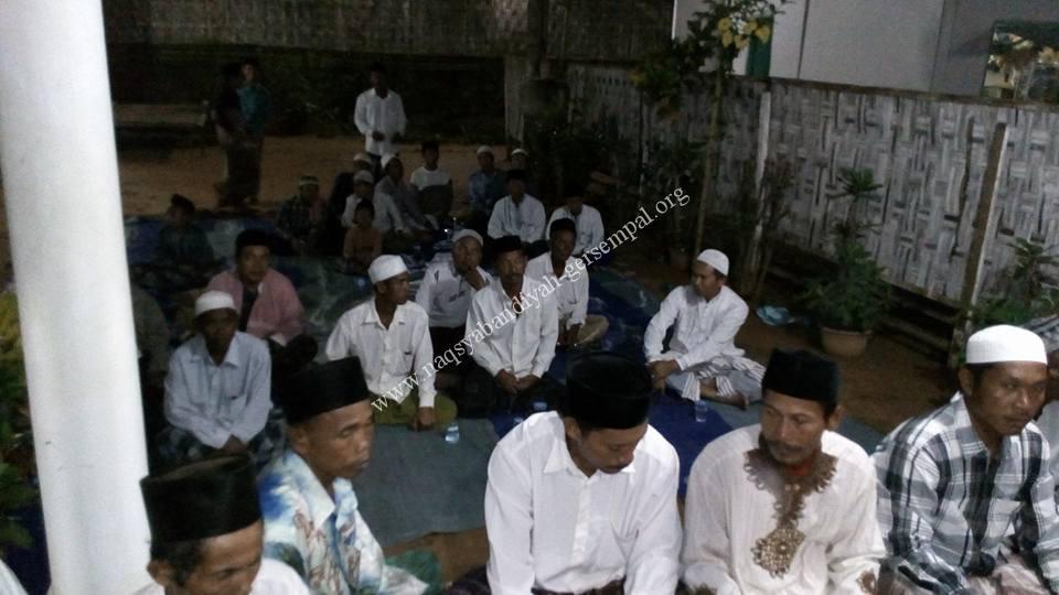 Masyarakat setempat turut berpartisipasi dan mendukung kegiatan SITQON Ketapang