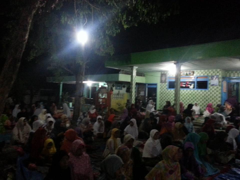 Jama'ah SITQON Pamekasan mengikuti kegiatan Majlis Dzikir Wat Ta'lim