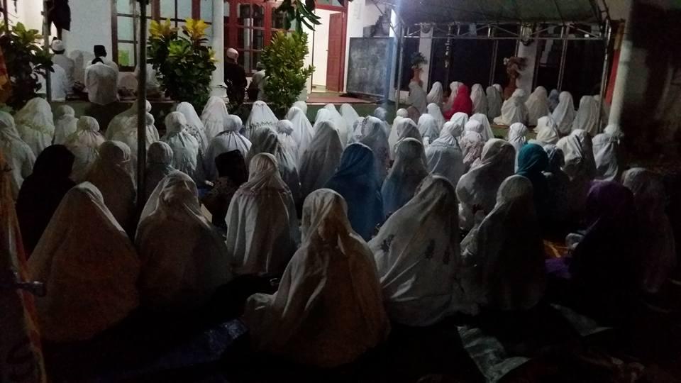 Akhowat Naqsyabandiyah Gersempal mengikuti kegiatan SITQON Ketapang