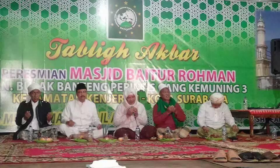 Tampak Jajaran Pembina SITQON bersama KH. Saifullah Yusuf (Wagub Jatim)