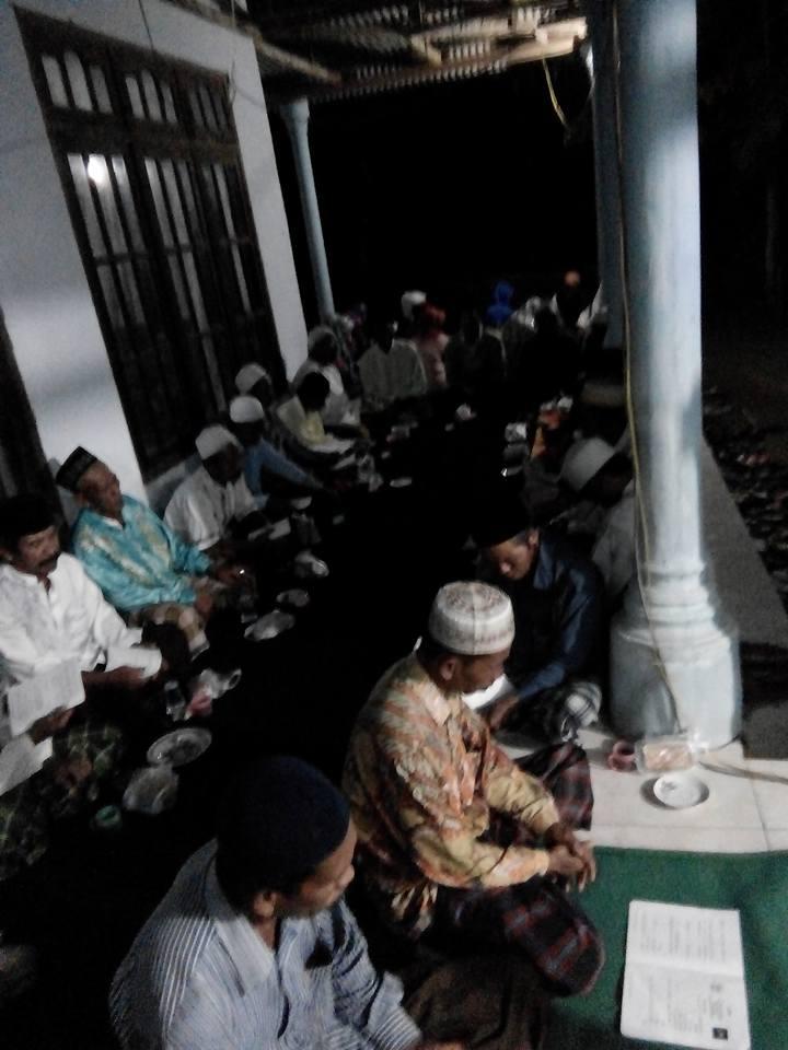 Jama'ah SITQON Ranting Palalang mengikuti peringatan Maulid Nabi Muhammad SAW