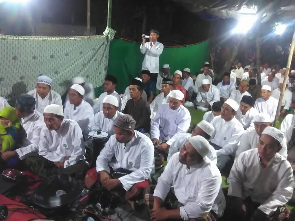Jama'ah SITQON Tapal Kuda mengikuti Peringatan Maulidur Rosul Muhammad SAW