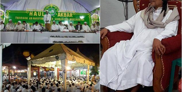 Puluhan Ribu Jama'ah SITQON Sambut Malam Nishfu Sya'ban di PP. Darul Ulum II Al-Wahidiyah