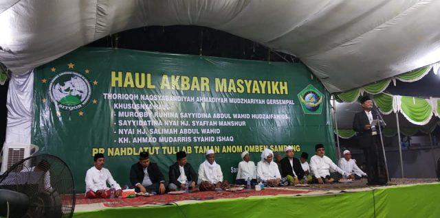 Haul Sayyidina Abdul Wahid Khudzaifah Qs, Jama'ah Do'akan Keselamatan Lombok
