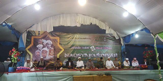 Puluhan ribu jama'ah hadiri Haul Syeikh Abdul Wahid Khudzaifah dan Masyayikh Naqsyabandiyah