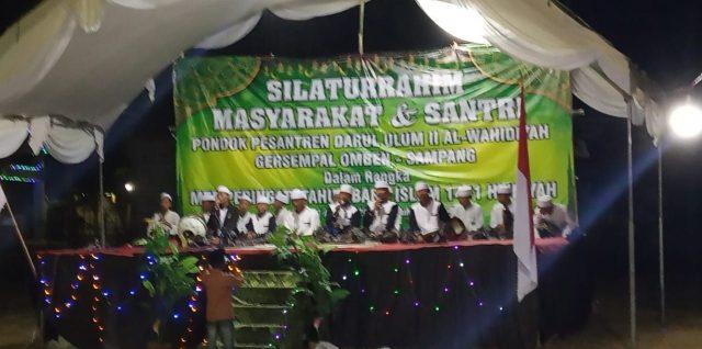Masyarakat & Santri Darul Ulum II Al-Wahidiyah Gersempal, Rayakan Tahun Baru Islam