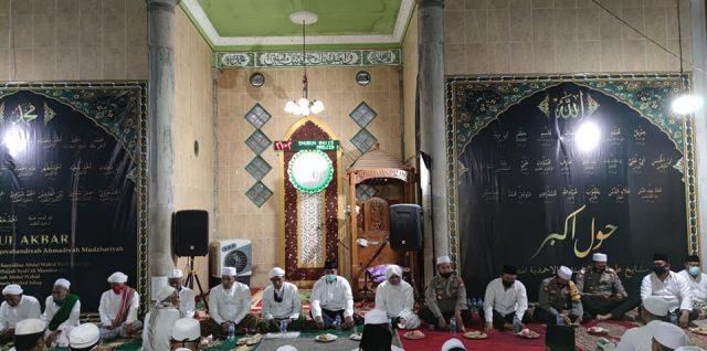 DANREM 084/Bhaskara Jaya Apresiasi Haul Akbar di PP. Nahdlatut Thullab